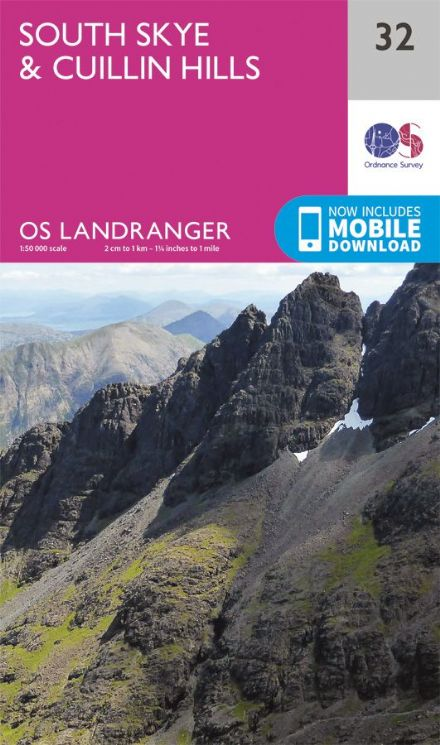OS Landranger 32 - South Skye and Cullin Hills